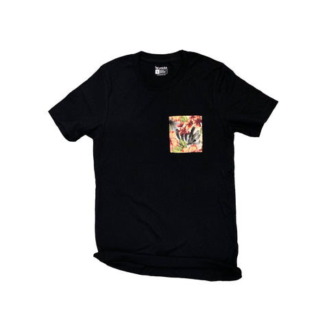 I.L.Y. Aloha Pocket tee // Black