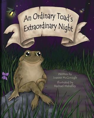 Children's book about toads