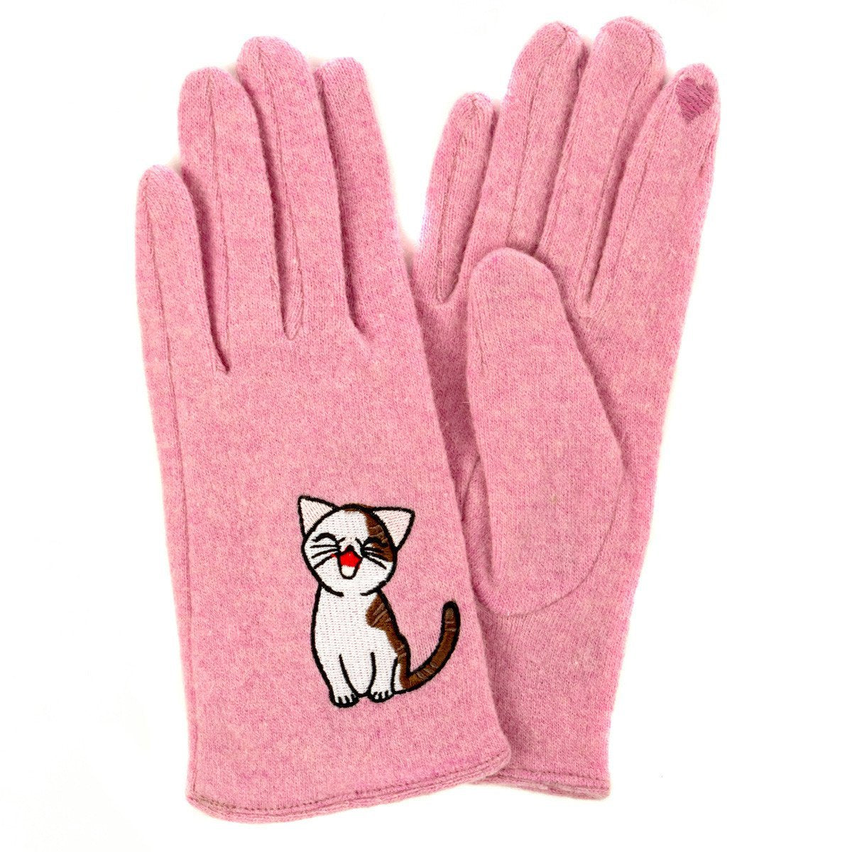 Cat Gloves- pink