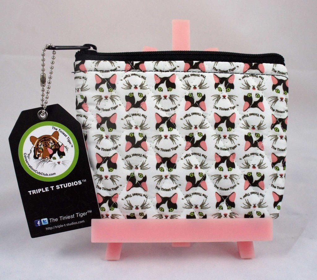 Cat Coin Zipper Pouch - Triple T Studios - 1