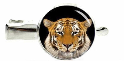 Big Cat Hair Pins Tiger