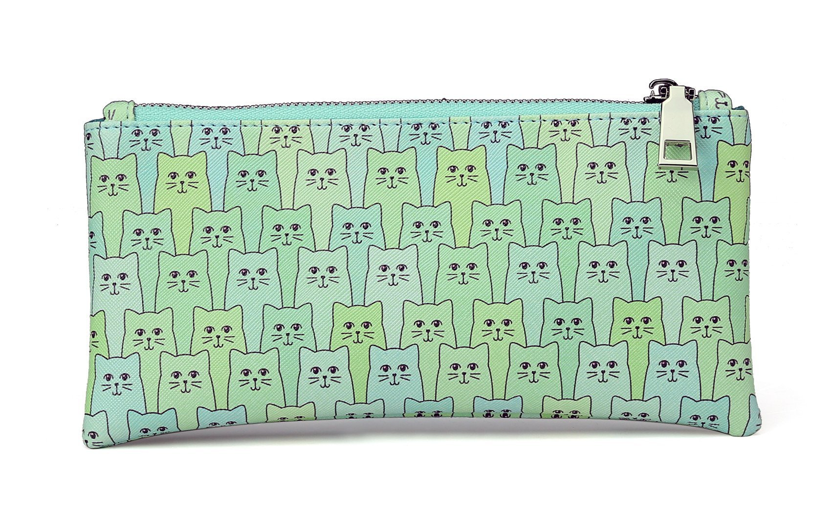 Happy Cat Zipper Pouch