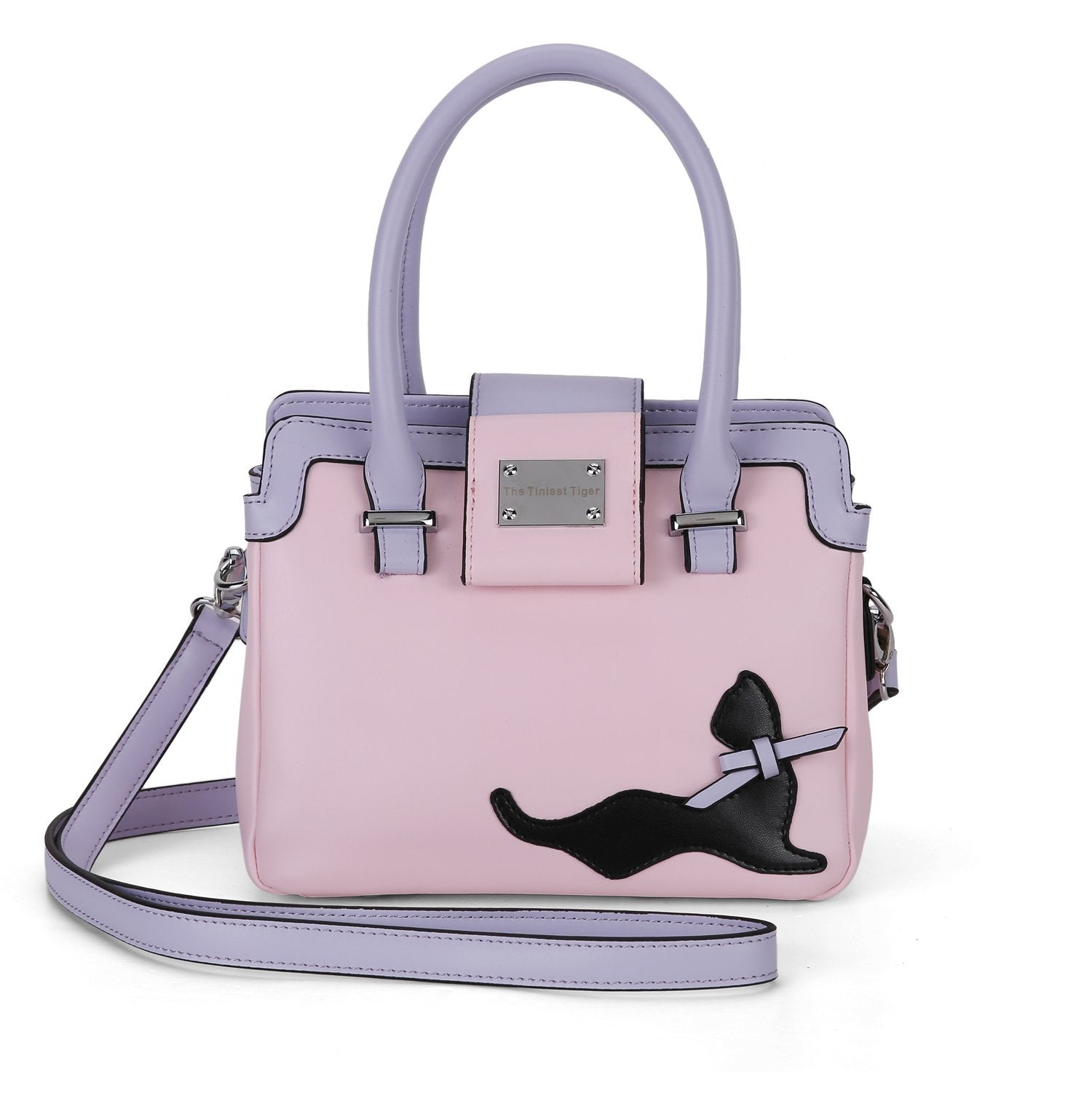 Mini Pretty in Pink Cat Handbag  Triple T Studios 1