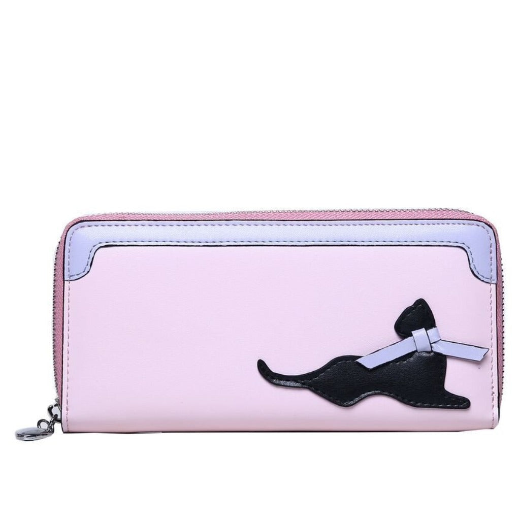 Cat Fashion | Pretty in Pink Cat Wallet