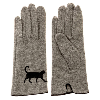 Cat Gloves| Cat Design| Wool Cat Gloves 1