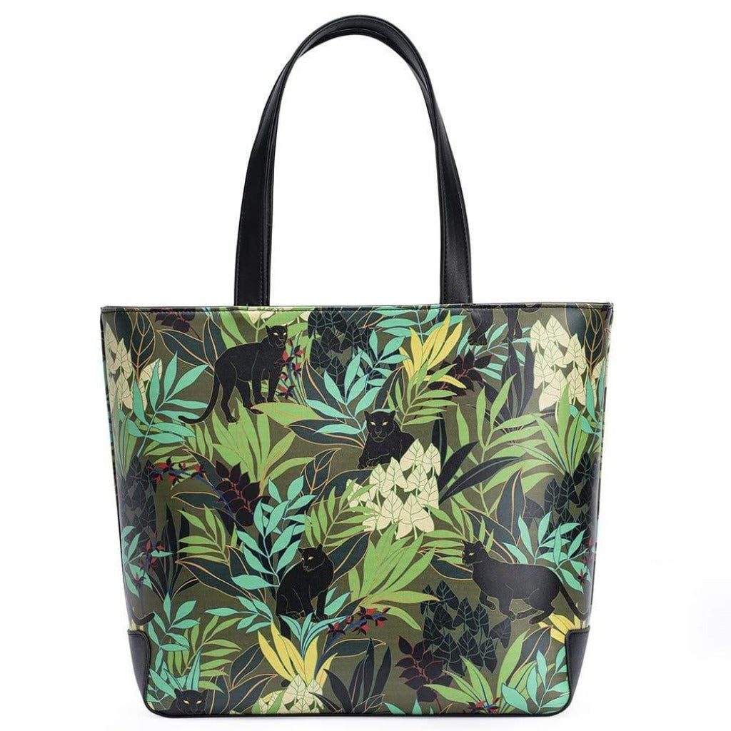 Cat Purse - Jungle Panther design/ Cat Tote