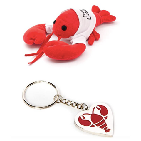 You're My Lobster Stuffed Animal and Keychain