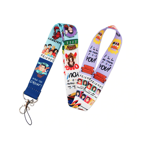 FRIENDS Colorful Lanyard