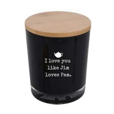 I Love You Like Jim Loves Pam Scented Candle