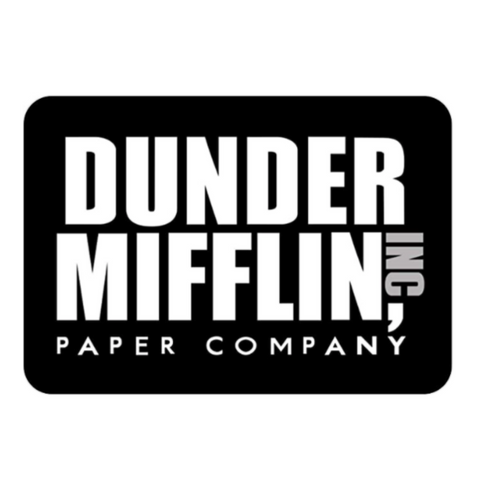 Dunder Mifflin The Office Mousepad