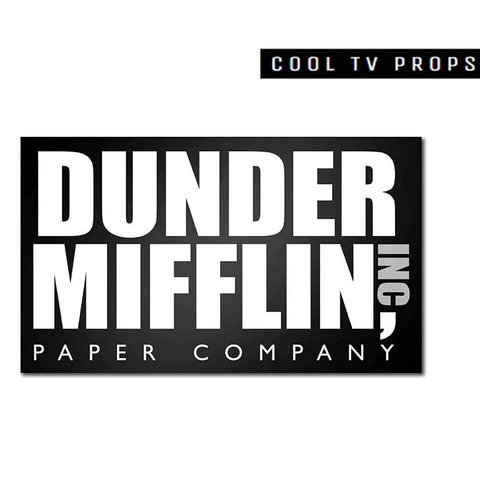 Dunder Mifflin 12.5 x 7.5 Inches Acrylic Sign