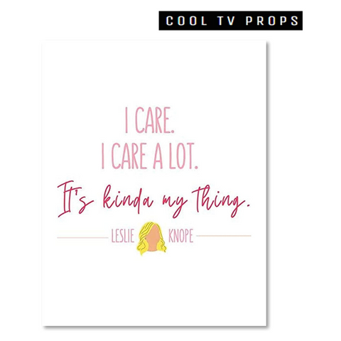 I Care A Lot 11x14 Inch Poster Print