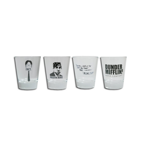 The Office Shot Glass Set