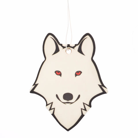 Dire Wolf Air Freshener, inspired by Ghost on Game of Thrones