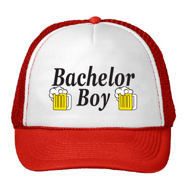 Bachelor Boy Trucker Hat, as seen on Parks and Recreation