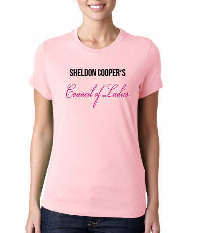"Sheldon Cooper's ""Council of Ladies"" T-Shirt"