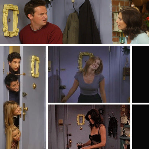 Peephole frame from Monica\'s apartment on Friends – Cool TV Props