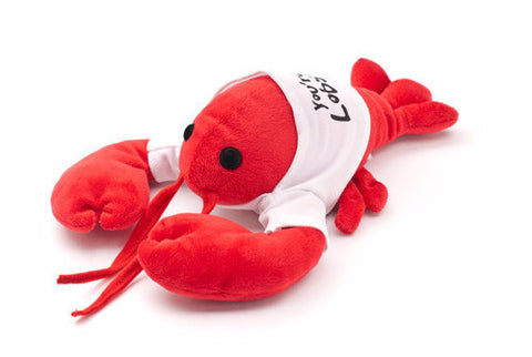 You are my lobster plush toy with white shirt from Friends