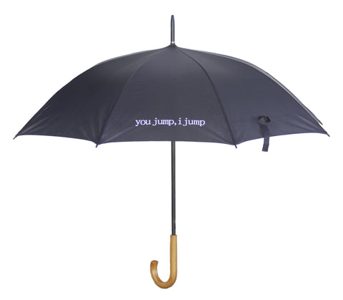 "Rory's ""You Jump, I Jump"" Black Umbrella, inspired by Gilmore Girls"