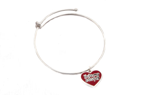 """You're My Lobster"" Charm Bangle, inspired by Friends"