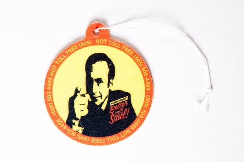 Better Call Saul Air Freshener, inspired by Breaking Bad and Better Call Saul