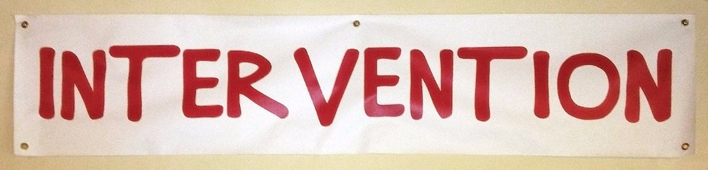 Men Who Love Black Women >> Intervention Banner, as seen on How I Met Your Mother – Cool TV Props