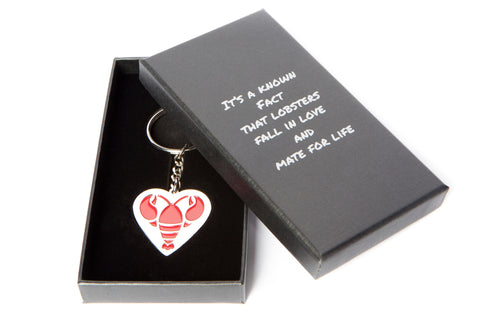 """You're My Lobster"" Keychain in Black Gift Box, inspired by FRIENDS"