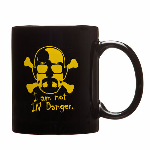 I am the Danger Coffee Mug (Black)