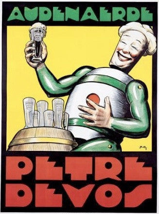 Petre Devos beer poster from Big Bang Theory