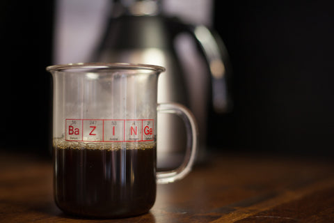 """Bazinga"" Beaker Mug (400 mL), inspired by The Big Bang Theory"