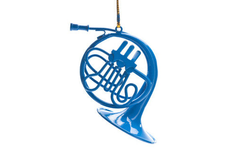 blue french horn that ted stole for robin on how i met your mother cool tv props. Black Bedroom Furniture Sets. Home Design Ideas