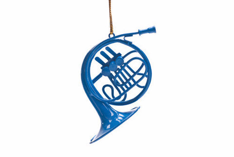 Small Blue French Horn that Ted Stole for Robin