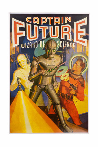 Captain Future Poster from Sheldon's Apartment on Big Bang Theory