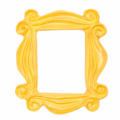 Handmade Yellow Peephole Frame as Seen on Friends