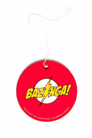 """Bazinga!"" Air Freshener, inspired by The Big Bang Theory"