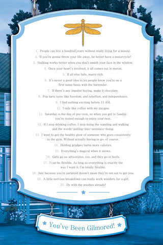 Gilmore Girls Quotes To Get Through Life - Poster (36 x 24 inches)