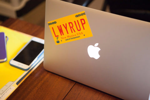 "Better Call Saul ""LWYRUP"" Sticker"