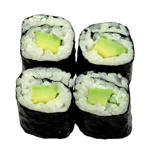 27) Avocado Hoso Maki (4 pieces)