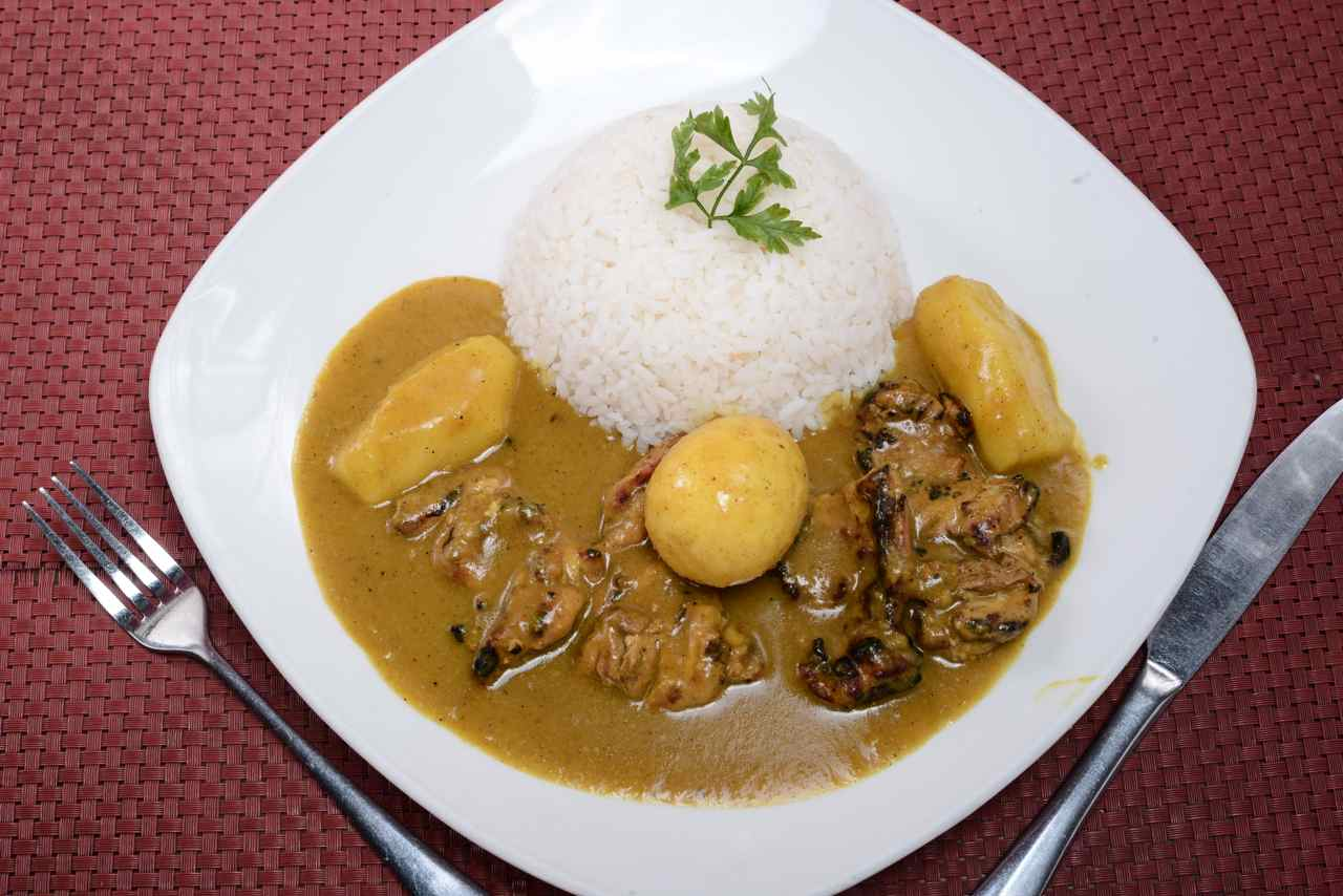 Curry Chicken