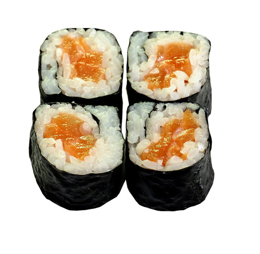 29) Spicy Salmon Hoso Maki (4 pieces)