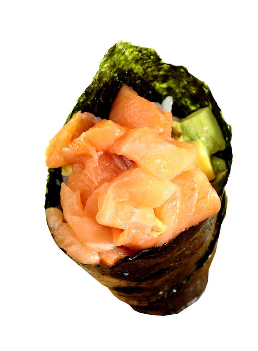 50) Salmon Temaki (1pc)