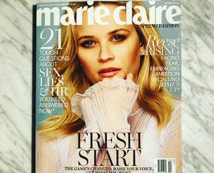 FEATURED IN MARIE CLAIRE