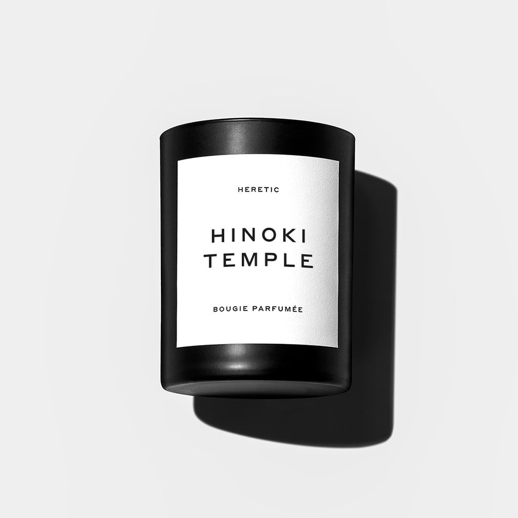 Hinoki Temple Candle by Heretic Parfum