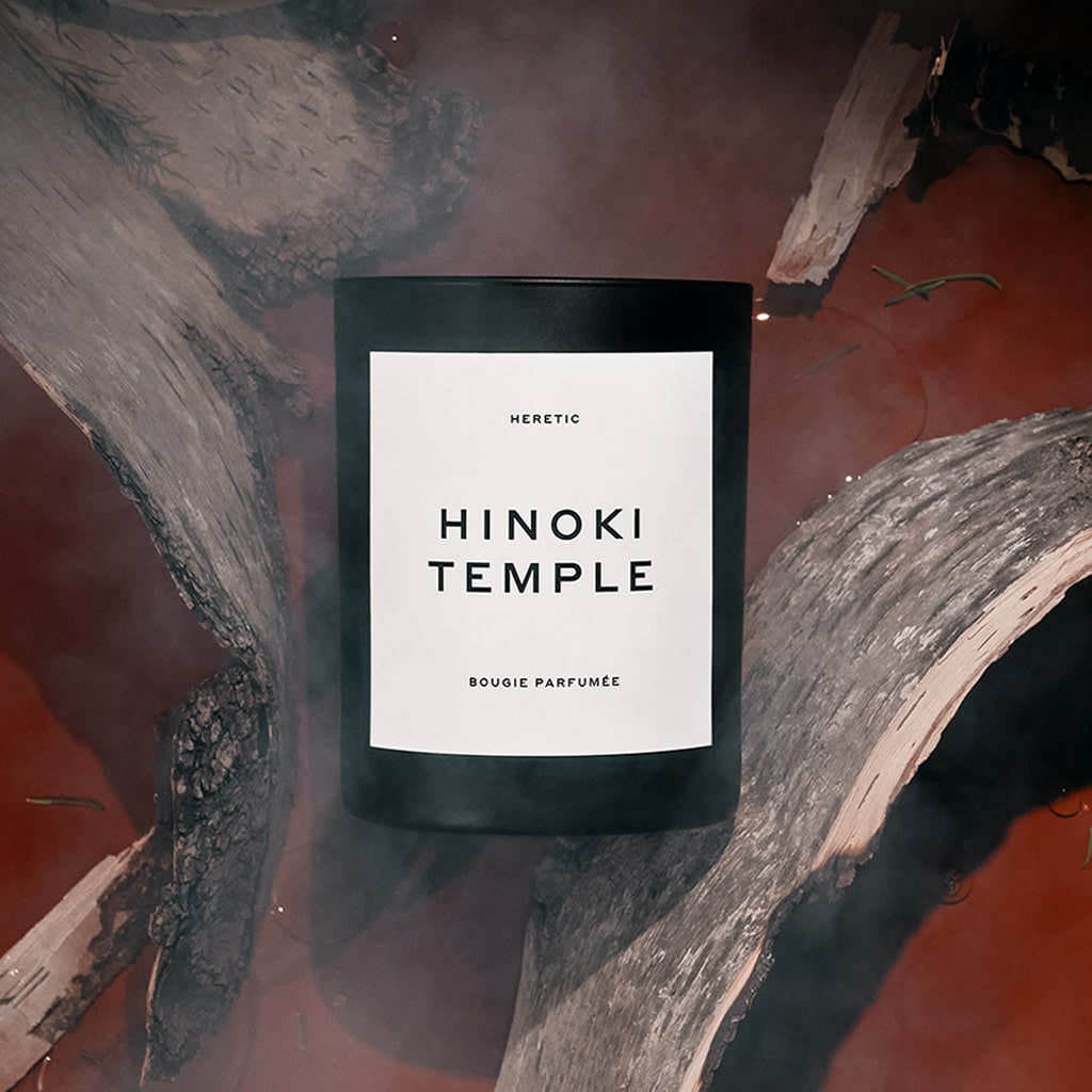 Hinoki Temple Soy Candle