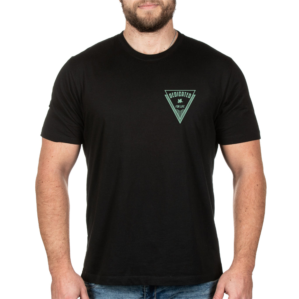 Bermuda Tee - Black - Furious Apparel