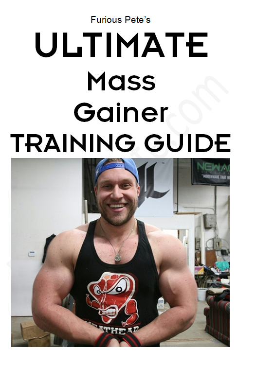 ULTIMATE MASS GAINER GUIDE (Training Guide Only) - Furious Apparel