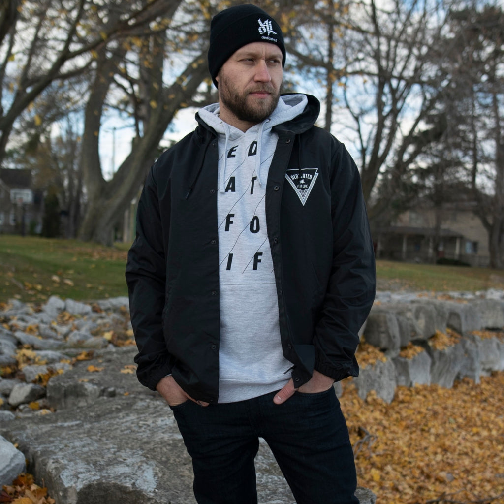Bermuda Windbreaker - Black - Furious Apparel