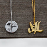 18k Gold d4L Stainless Steel Necklace - Furious Apparel