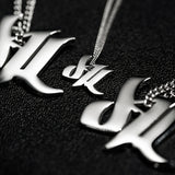 d4L Mini Stainless Steel Necklace - Furious Apparel