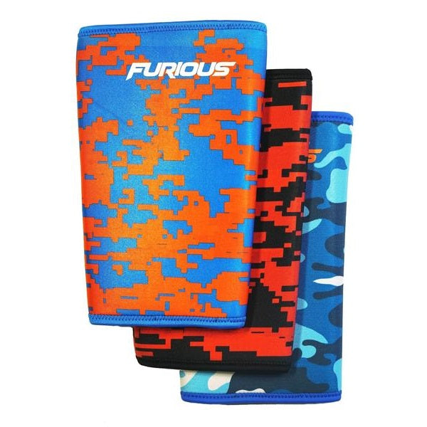 Furious Knee Sleeves (sold as pair) - Furious Apparel